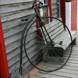 Stock Photo: Penny Farthing - Skagway, Alaska, USA