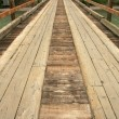 Bridge - Chilkoot Gold Mine Trail, Skagway, Alaska, USA — Foto de Stock