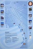 Map.Juneau - The Capital City of Alaska, USA — Stock Photo