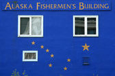 Fisherman House Alaska — Stock Photo