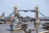Tower Bridge - London - UK — Stock Photo
