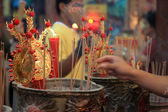 BANGKOK, - JANUARY 23 : Chinese New Year 2012 - Celebrations in — Zdjęcie stockowe