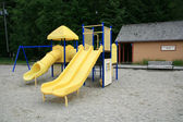 Children slide. Skagway, Alaska, USA — Stock Photo