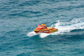 Surf Rescue Boat - Fraser Island, UNESCO, Australia — Стоковое фото