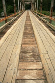 Bridge - Chilkoot Gold Mine Trail, Skagway, Alaska, USA — Stock Photo