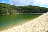 Jezioro wabby - fraser wyspa, unesco, wielka brytania — Zdjęcie stockowe
