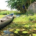 Floating Fishing Village - Uganda, Africa — Stock Photo #12913764