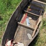 Boat at Fishing Village - Uganda, Africa — Stock Photo #12914859