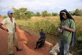 Dirt Road - Uganda, Africa — Stock Photo