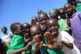 Dorf im osten von uganda - die perle afrikas — Stockfoto