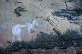 Aboriginal Rock Art - Kakadu National Park, Australia — Foto Stock