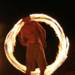 Fire Twirling - Kakadu National Park, Australia — Stock Photo