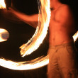 Stock Photo: Fire Twirling - Kakadu National Park, Australia