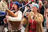 Traditional Castle Festival - Austria — Stock Photo