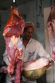 Meat Market, Tanzania — Stock Photo