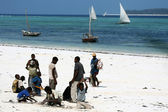 Matemwe Beach, Zanzibar — Stock Photo
