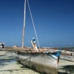 マテムウェのビーチ、ザンジバル — ストック写真