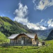 Mountain Cabin — Stockfoto