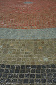 Floor Tiles - Odori Park, Sapporo City, Japan — Stock Photo