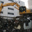 Digger Machine Landfill Sapporo, Japan - Foto de Stock