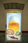 Sapporo Beer Advert Billboard, Japan — Stock Photo