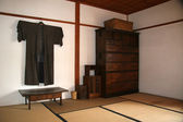 北海道开拓村、 日本的旅馆 — 图库照片
