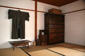 Ryokan - historická vesnice hokkaido, japonsko — Stock fotografie
