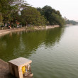 Around Hoan Kiem Lake, Hanoi - Stock Photo