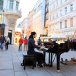 Pianist Soryang in Vienna, Austria — Stock Photo