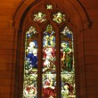 Stock Photo: Stained Glass Window - St Mary's Cathedral, Sydney, Australia