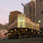 Australian Hotel Bar - The Rocks, Sydney, Australia — Stock Photo