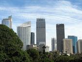 Skyline de cidade - sydney, austrália — Foto Stock