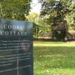 Captain Cook's Cottage - Fitzroy Gardens, Melbourne, Australia — Stock Photo