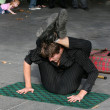 Street Performer - Southbank, Melbourne, Australia — Stock Photo