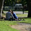 Carlton Gardens, Melbourne, Australia — Stock Photo