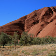 Uluru, Ayres Rock, Australia — Stock Photo
