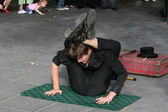 Street Performer - Southbank, Melbourne, Australia — Stock Photo
