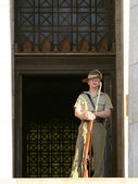 Guard - Royal Shrine, Melbourne, Australia — Stock Photo