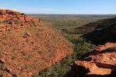 国王峡谷、 watarrka 国家公园、 澳大利亚 — 图库照片