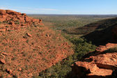 Kings canyon, watarrka nationaalpark, australië — Stockfoto