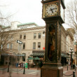 Steam Clock - Gastown, Vancouver, BC, Canada - Stock Photo