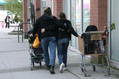 Homeless - Vancouver City, BC, Canada — Stock Photo