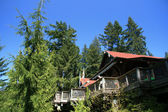 Luxury Cabin, Vancouver, Canada — Stock Photo