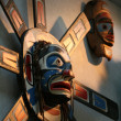 Totem Pole - Capilano Suspension Bridge, Vancouver, Canada — Stock Photo