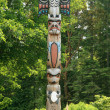 Totem Pole - Butchart Gardens, Victoria, BC, Canada — Stock Photo #14387527