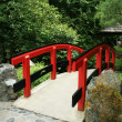 Japanese Bridge - Butchart Gardens, Victoria, BC, Canada — Stock Photo