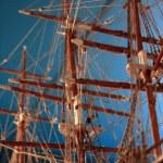 modello della nave - museo marittimo a.c., victoria, bc, canada — Foto Stock