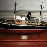 model gemi - m.ö. Deniz Müzesi, victoria, bc, Kanada — Stok fotoğraf #14388295