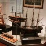 modelo de barco - museo marítimo de bc, victoria, bc, Canadá — Foto de Stock