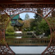 Sun Yat Set Chinese Garden, Vancouver, BC, Canada — Stock Photo